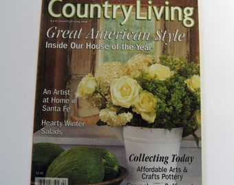 Popular items for country living magazine on etsy for Country living magazine recipes