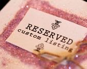 Custom Label Design for Christine