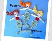 Mermaid Crochet PATTERN PDF