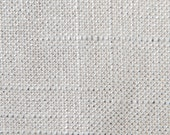 Metallic Silver Metal - Linen Fabric with Glitz - Wedding Decoration - Party Fabric - Clothing -  priced per yard