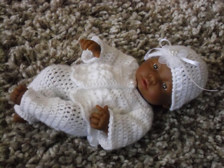 Crochet pattern for Berenguer 9 inch mini la newborn baby doll