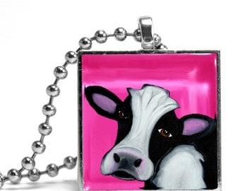 Dairy Cow Necklace - Original Design