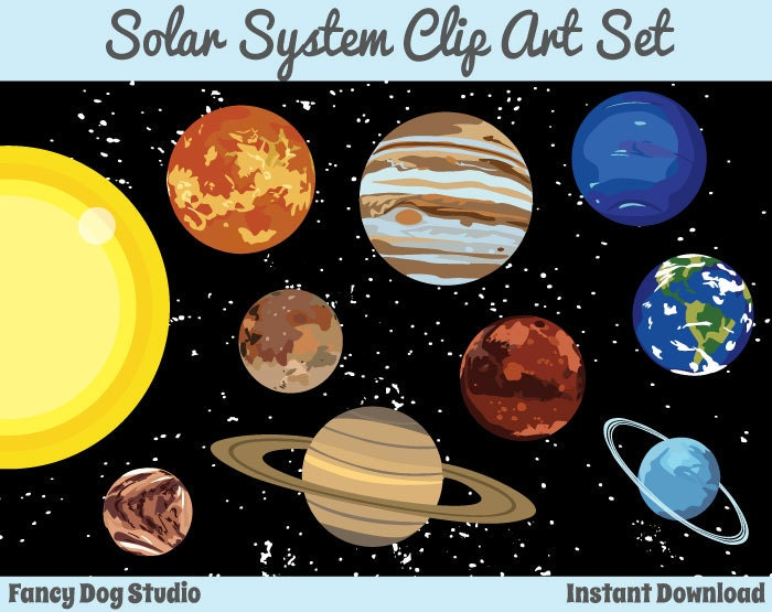 solar system clipart - photo #17