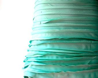 Cotton mint skirt