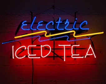 Neon Electric Iced Tea Sign
