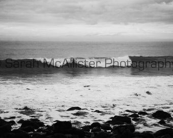 Cannon Beach Black & White photography print