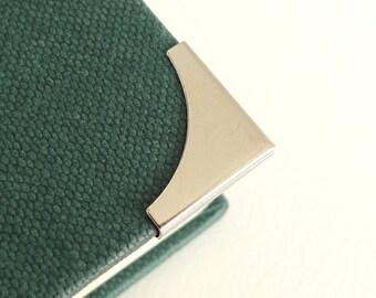 20 Silver Metal Book Corners - Bookbinding - Scrapbooking - Photo Album - Diary - Journal