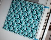Oven Door Snap Towels - Set of 3 - Blue Owl Circles