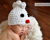 Little Chick Beanie Baby Newborn Crochet Photography Prop