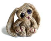 Bunny Rabbit Amigurumi Crochet Pattern PDF Instant Download - Bramble