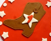 Cowboy Fondant Cake Topper (Ready to ship)