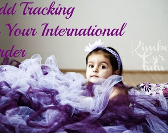 Add International Tracking