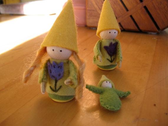 Spring Fairy Family