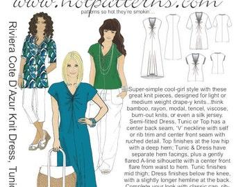 HP 1121 Riviera Cote D' Azur Knit Dress, Tunic & Top