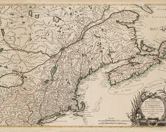 1778 Map of New England
