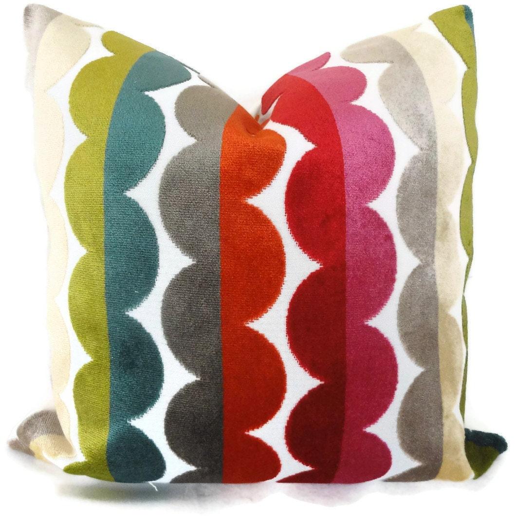 Etsy Throw Pillows Jonathan Adler Decorative Pillow Cover Accent Pillow