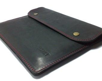 Perfect case for IPad Ipad 1  Bag for iPad Sleeve for iPad 1, Cover IPAD 1 IPAD holder genuine leather free INITIALS felt for protect