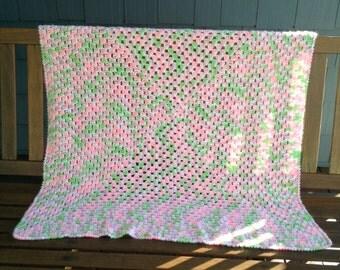 Crochet Girl Blanket