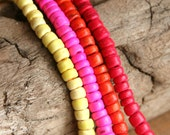 Coco Beads Hot Mix 80 pieces, 4-5mm,  HM80