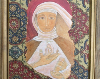 Saint Catherine of Siena Painting and Icon