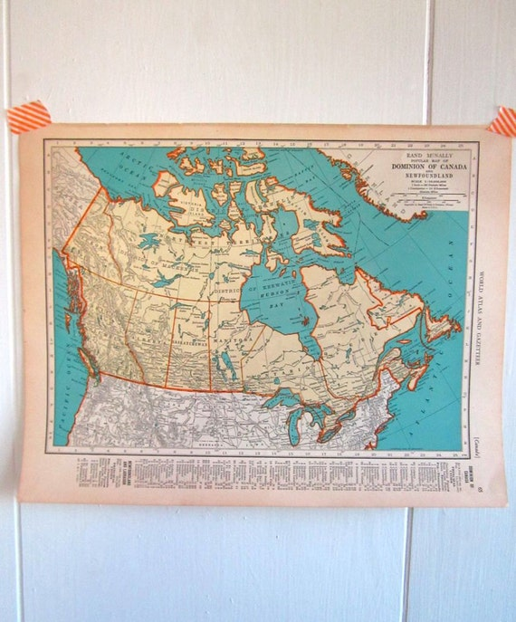 Canadian map decor 28 images ontario canada vintage for Home decorations canada