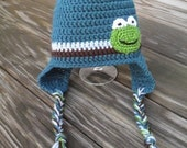 Froggie Striped Hat