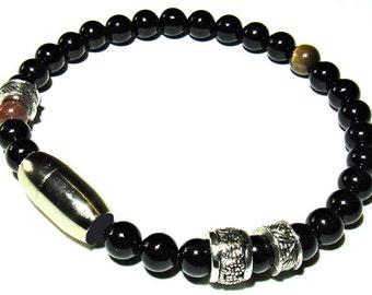 OVERTURE- Mens Onyx bracelet