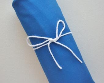 Fitted Crib Sheet -Royal Blue- Solid Crib Sheet - Flat Crib Sheet - Crib Sheet - Toddler Sheet - Baby Sheet -Solid Blue Fitted Sheet-Bedding