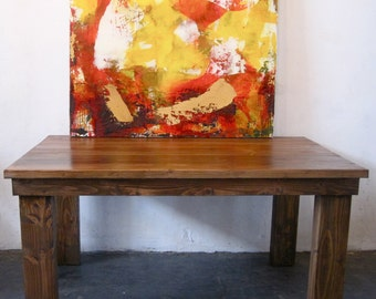 Beautiful Reclaimed Wood Dining Table. Made in Los Angeles