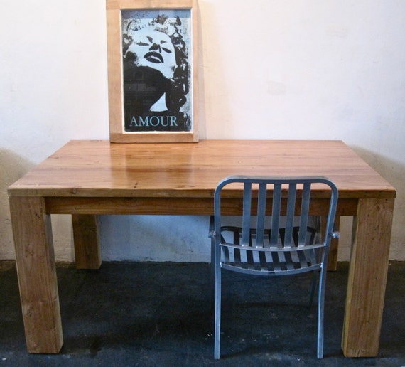 Dining table reclaimed wood dining table los angeles for Where to buy reclaimed wood los angeles