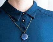 Constellation necklace astronomy jewelry galaxy necklace nebula