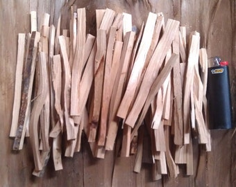 Juniper Incense Wood Sticks, Alligator Juniper Heartwood, High Elevation Southern Arizona Aromatic Wildcrafted Sustainable Incense Wood