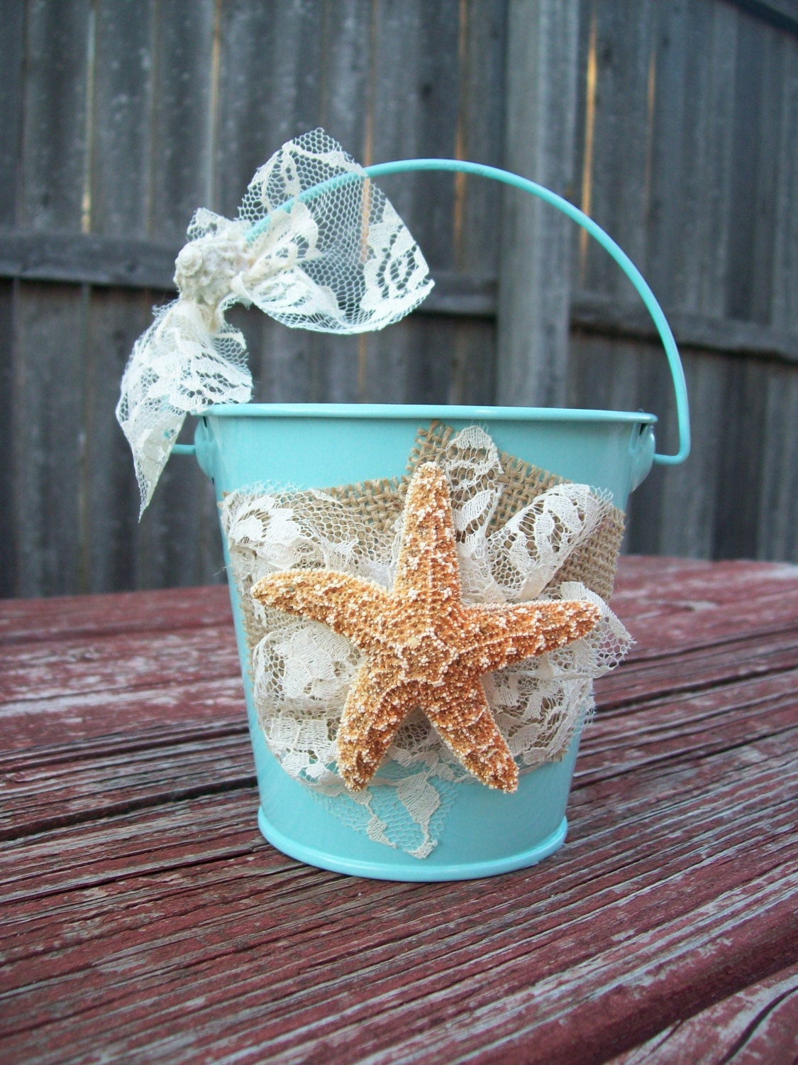 Beach Flower Girl Basket For Your Destination Wedding