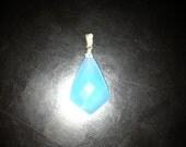 Sky Blue Chalcedony Kite Necklace A