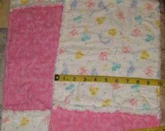 Rag Quilt Burp Cloth / Changing cloth