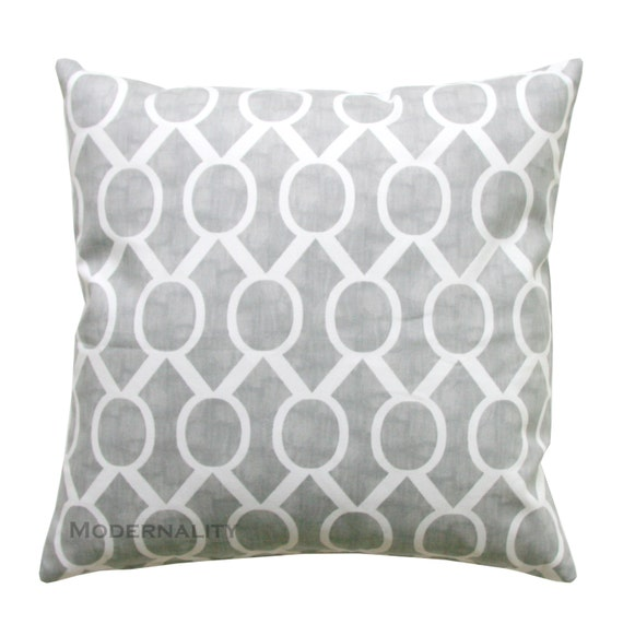 Throw Pillows In Clearance : CLEARANCE Decorative Throw Pillows Storm by ModernalityHomeDecor