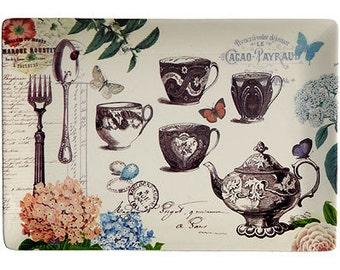 Ceramic Vintage style Platter