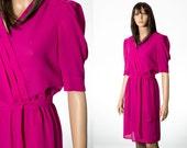 Pink dress semi sheer size xs petite