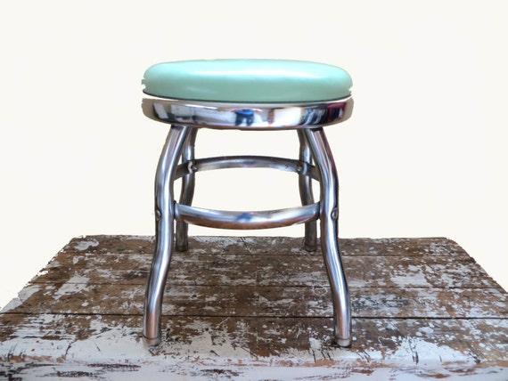 Chrome Stool Jadeite Chrome Stool Mid Century Furniture Foot