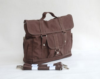 Pico2 Backpack in Cinnamon / Messenger Bag / Handbag /Diaper Bag/ School Bag/ Women / Gifts for Him /Gift For Her/ Sale SALE SALE 40%  - Off