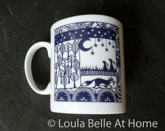 LESS than HALF PRICE! A Woodland Tale Porcelain Mug
