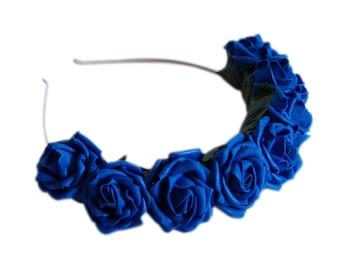 Lotta Rosie Headband - Cobalt Blue