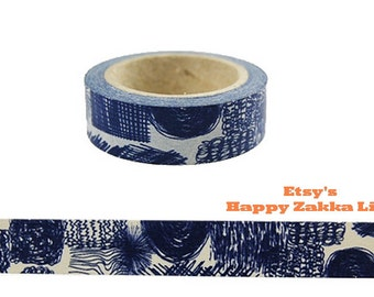 Japanese Washi Masking Tape - Doodle - 11 Yards