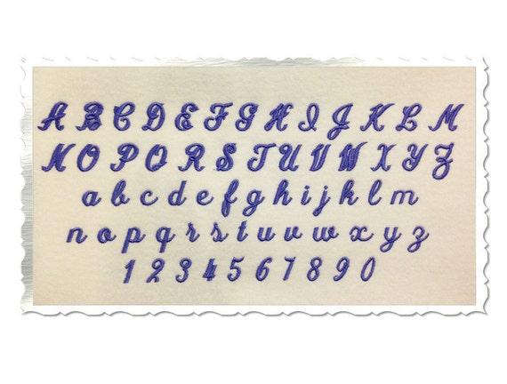simple monogram machine