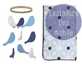 Bird Baby Crib Mobile - Personalized Customized