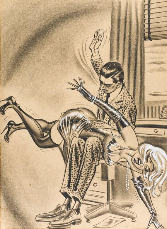 Adult erotic spanking cartoons