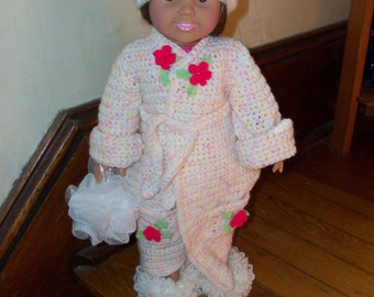 Crocheted Outfits for American Girl Doll  New