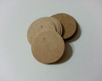 Circle Tags, Small Tags, Round Kraft Tags, Label Tags, Mini Tags, Circle Gift Tags, Price tags, Jewelry Tags, Circle Hang Tags, Kraft Tags