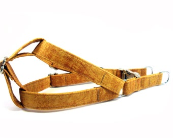 Dog Harness, EARTH, Handmade Dog Harness, Dog Step in Harness, Step in Dog Harness