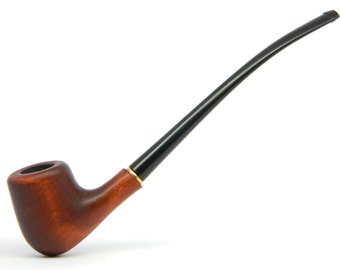 "6.3"" CHURCHWARDEN  Style Ladies Tobacco smoking pipe ""Glamour"" - (no filter) -"